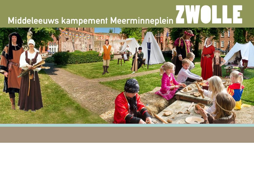 12 - Middeleeuws kampement Meerminneplein